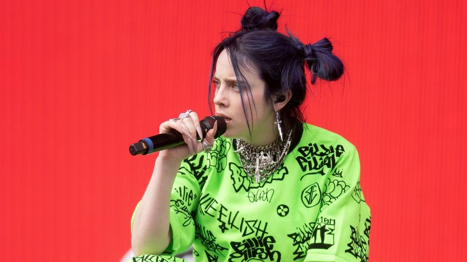 Billie Eilish Looks Totally Different With Neon Hair