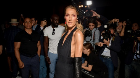 Drop What You're Doing and Take a Moment to Appreciate Celine Dion's PFW Couture Looks   StyleCaster