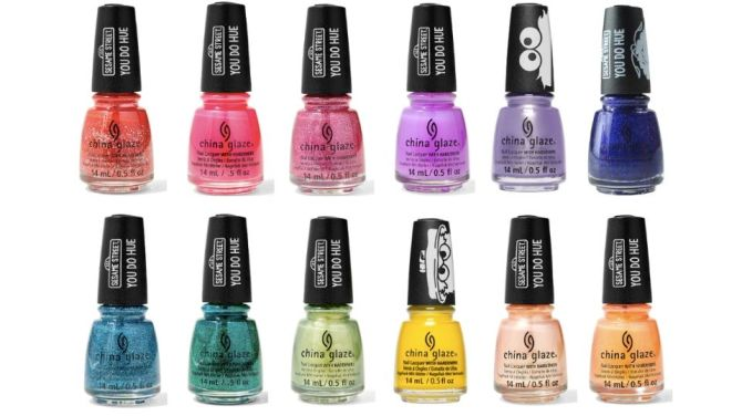 china glaze sesame street This Sesame Street Nail Polish Collection Is Cool Enough for Adults