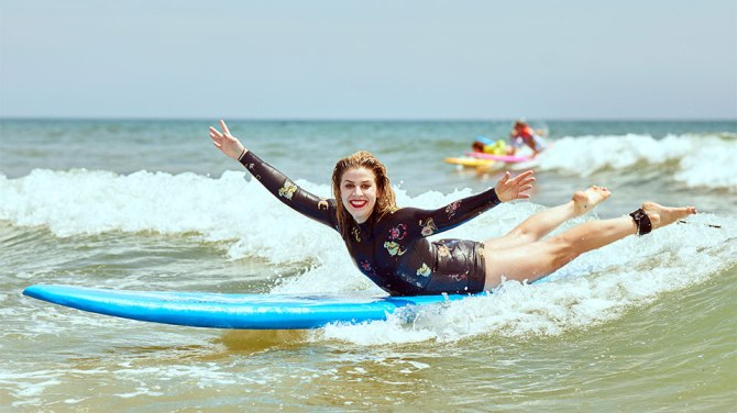 christina grasso surfing How Learning to Surf Helped Me in My Eating Disorder Recovery