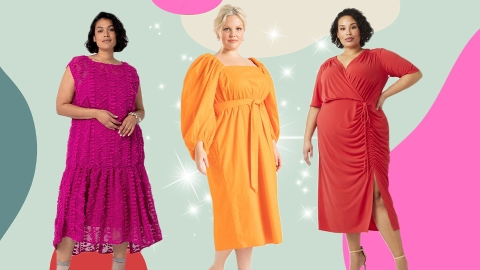 15 Plus-Size Wedding Guest Dresses That (Almost!) Steal The Show | StyleCaster