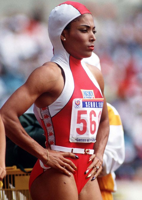 florence joyner ShaCarri Richardson Joins a Lineage of Black Track Stars Setting Records In Acrylic Nails