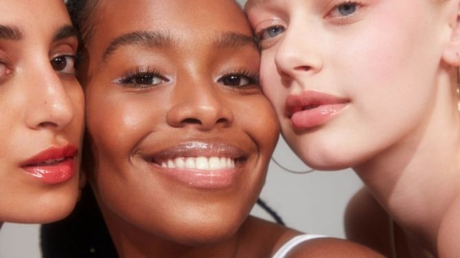glossier lip gloss models Glossier Is Dropping New Lip Gloss Shades and Michelle Obama Is Already Wearing One