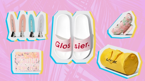 Glossier's Limited-Edition Clothing Line, GlossiWEAR, Is Already Here   StyleCaster
