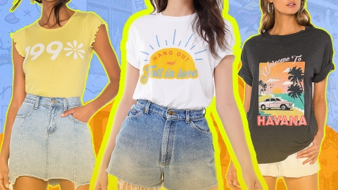 23 Nostalgic Graphic Tees to Add Some Retro Flavor to Your Summer Wardrobe | StyleCaster