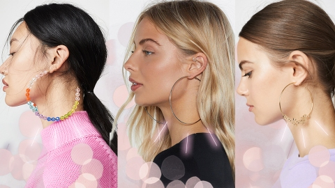Hoop Earrings So Truly Massive You Could Probably Fit Your Head Through Them   StyleCaster