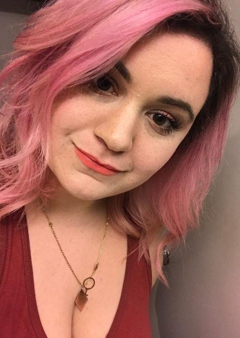 liz pink hair