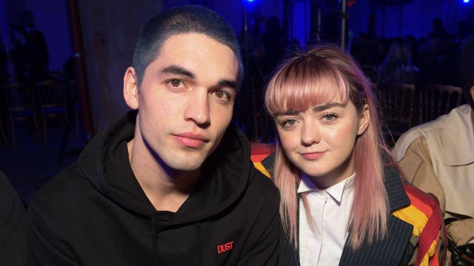 Maisie Williams and Her Boyfriend Just Got Matching Pink Hair