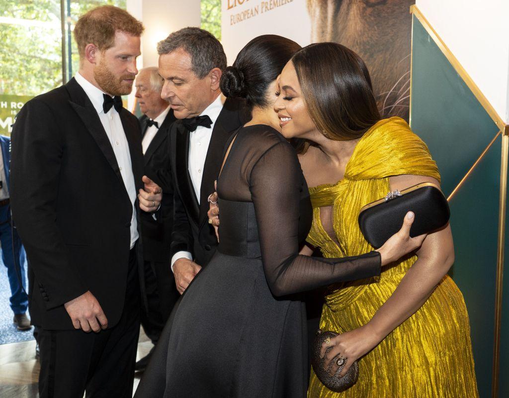 meghan marke hugs beyonce Beyoncé Is Getting Heat For Breaking Royal Protocol—Umm OK