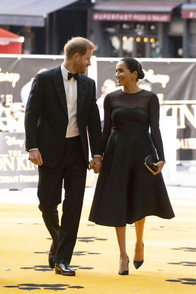 meghan markle prince harry the lion king Beyoncé Is Getting Heat For Breaking Royal Protocol—Umm OK
