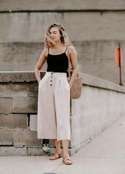 STYLECASTER | Minimalist Outfit Ideas Perfect for Every Summer Adventure