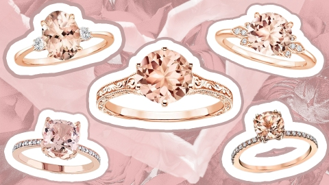 Pink Diamond Engagement Rings Exist—and They're as Cute as You'd Expect | StyleCaster