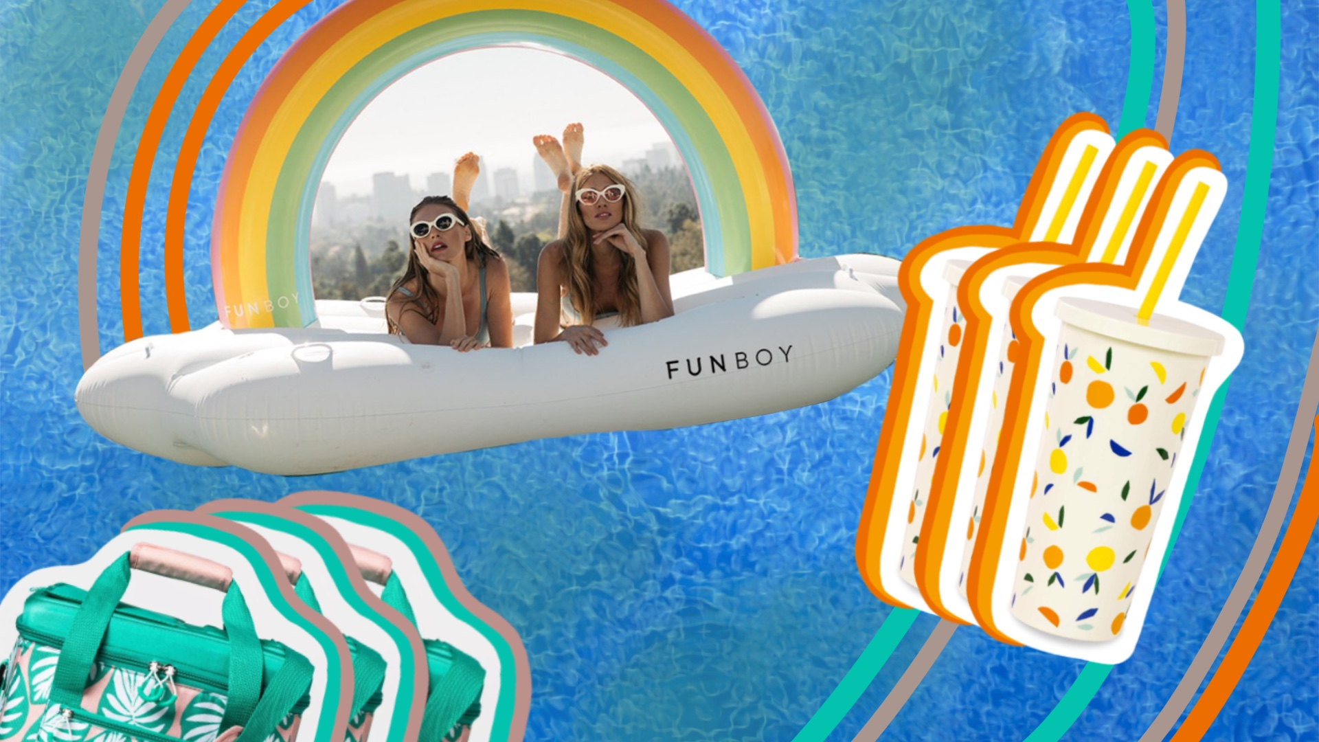 Pool and Beach Accessories Sure to Spice Up Your Fourth of July Instagrams