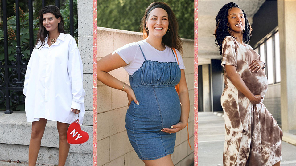 Pregnant Street Style Outfits So Chic, You'll Want to Recreate Them Even If You're Not Expecting