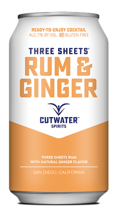 STYLECASTER | 13 Canned Cocktails for Summer Days When Beer Won't Cut It | Cutwater Spirits Rum and Ginger