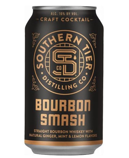 STYLECASTER | 13 Canned Cocktails for Summer Days When Beer Won't Cut It | Southern Tier Distilling Co. Bourbon Smash