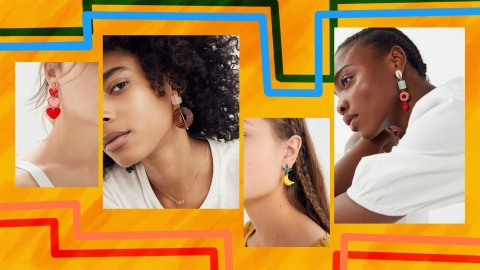23 Pairs of Statement Earrings Every Maximalist Can Score on Sale Right Now | StyleCaster