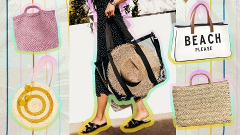 Beach Bags So Cute You'll Be Planning Your Next Vacation Before You Know It | StyleCaster