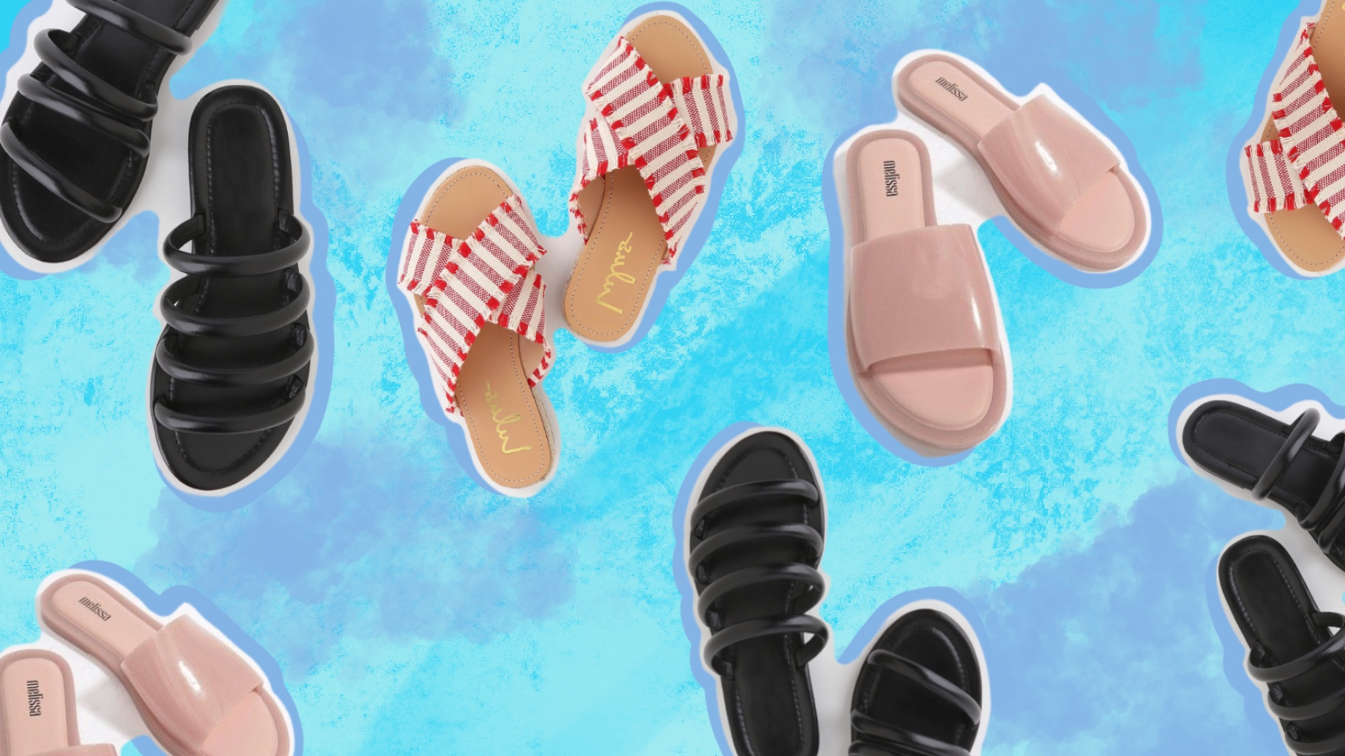 How Are There This Many Trendy Summer Slides on Sale???