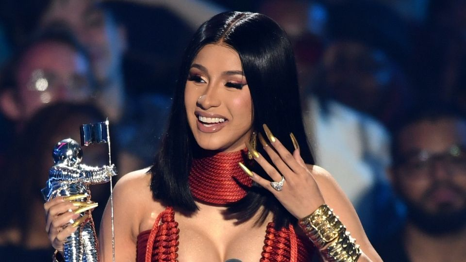 """Cardi B Took to Twitter Reacting to Fans Who Said she """"didn't deserve"""" her Grammy 