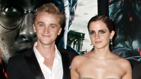 """Rupert Grint Just Admitted There Were """"Sparks"""" Between Emma Watson & Tom Felton—OMG 