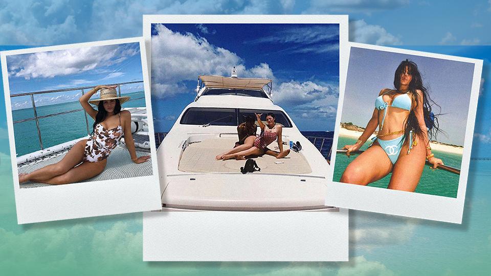 Kylie Jenner Beach Trips