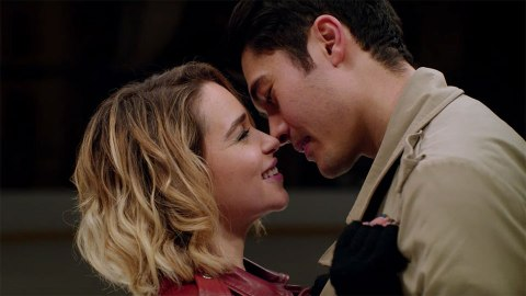 We're Already In Love With Emilia Clarke & Henry Golding In The 'Last Christmas' Trailer | StyleCaster