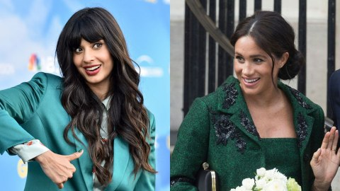 Meghan Markle Had The Best Reaction To Jameela Jamil's Joke About Her On 'The Good Place' | StyleCaster