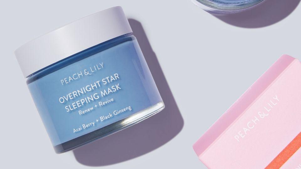 Peach & Lily's New Overnight Sleeping Mask Made My Skin Feel Like Silk