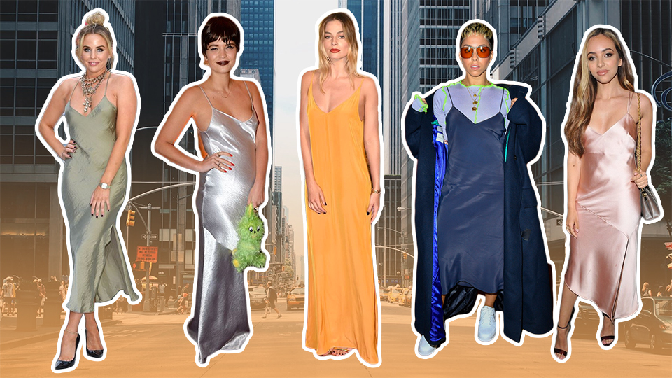 Anything-but-Average Ways to Wear a Slinky Slip Dress