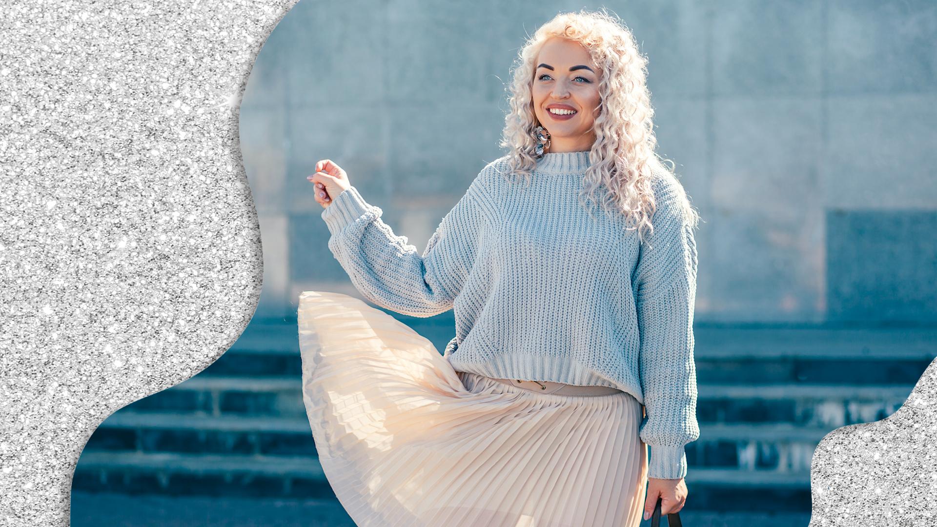 How to Wear A Sweater When It's Still Low-Key Hot Outside