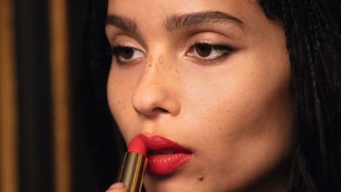 Zoë Kravitz Just Created a Gorgeous Lipstick Collection With YSL | StyleCaster