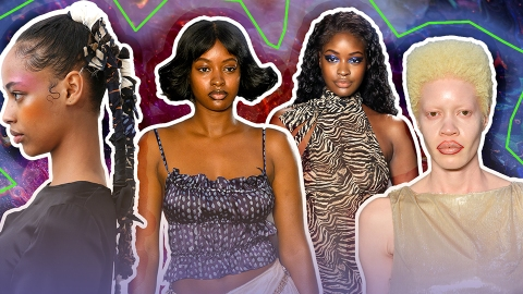 The Runway Has Spoken and 2020 Natural Hair Trends Are Seriously Stunning   StyleCaster