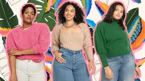 17 Cozy Plus-Size Knits That Will Have You Craving Sweater Weather   StyleCaster