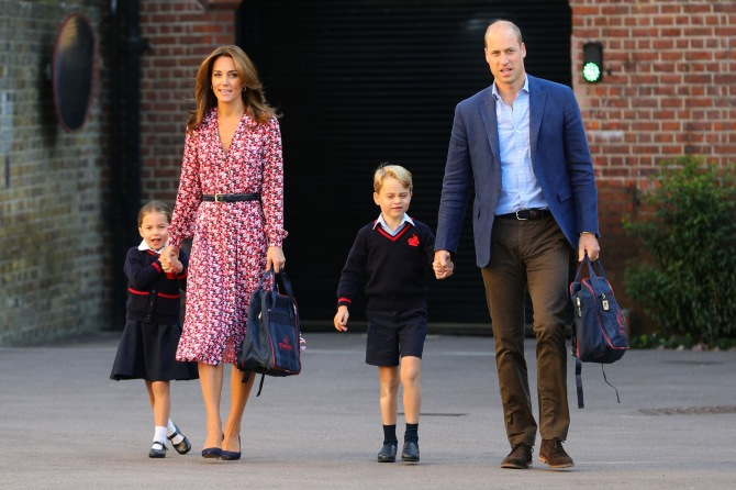 cambridge Kate Middletons New Blonde Hair Color Is Gorgeously Regal