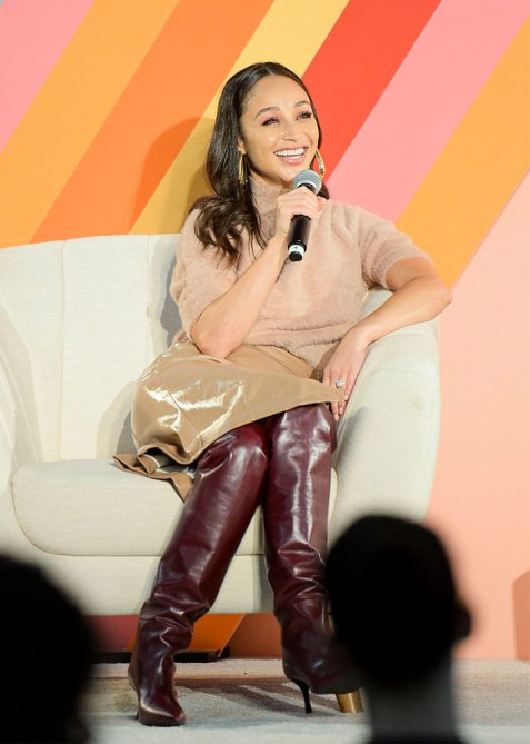 cara santana blogher 1 Cara Santanas Guide to Staying Sane When Youre a Mogul in the Making