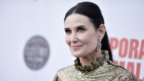 Demi Moore Wore the Perfect Fall Matching Set to Her NYC Book Signing | StyleCaster