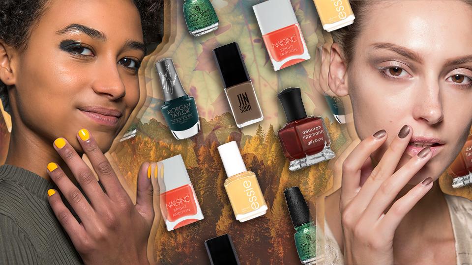 18 Nail Polish Colors You Need to Match the Fall Foliage