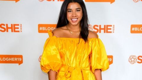 Hannah Bronfman's Negative Space Mani is the Perfect Fall Palette | StyleCaster