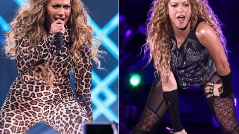 Jennifer Lopez & Shakira Are Headlining The 2020 Super Bowl Halftime Show—Lit | StyleCaster