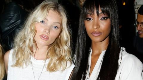 Elsa Hosk and Jourdan Dunn are Killing the Paris Fashion Week Street Style Game   StyleCaster