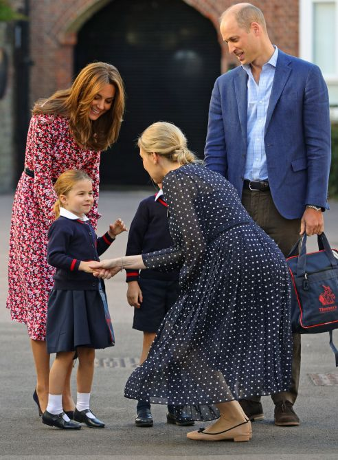 kate middleton prince william princess charlotte Kate Middletons New Blonde Hair Color Is Gorgeously Regal