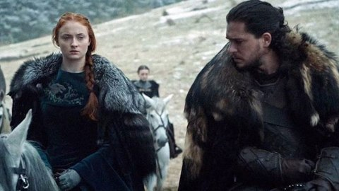 Kit Harington & Sophie Turner Had An Epic 'Game Of Thrones' Reunion At The Emmys | StyleCaster