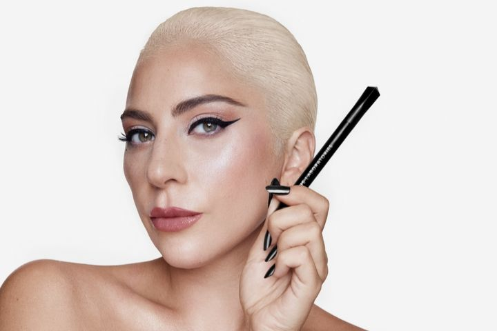 Behold, Lady Gaga in the Most Snatched Cat Eye I've Ever Seen