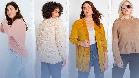 27 Plus-Size Sweaters This Fashion Writer Is Obsessed with for Fall 2019   StyleCaster