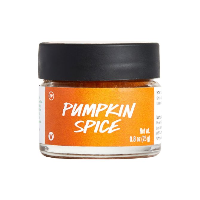 pumpkin spice lip scrub