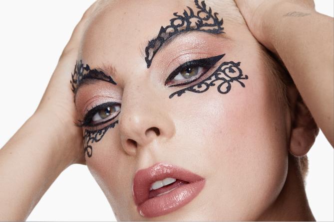 lady gaga lace mask