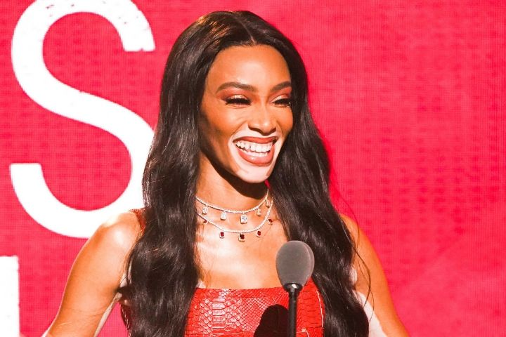 Finally—The First Look at Winnie Harlow's Collab With KKW Beauty
