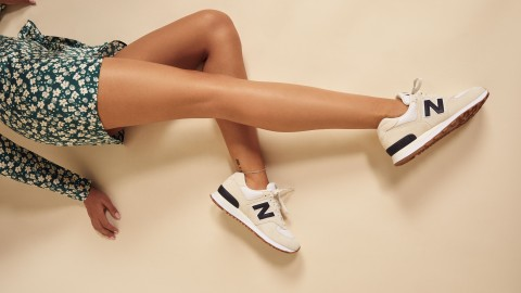 Reformation & New Balance Just Dropped Their Quintessentially Cool-Girl Sneaker Collab | StyleCaster