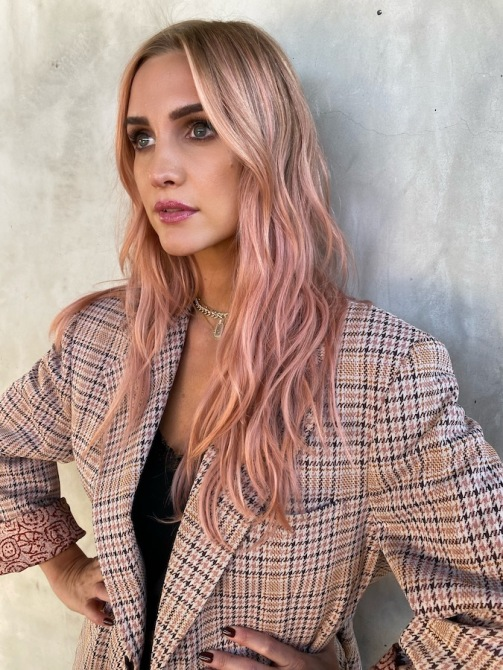 ashlee simpson punpkin pink